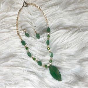 Jade Stone Set